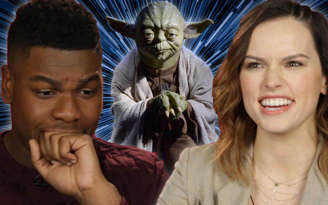 El Elenco de Star Wars Hace el Quiz de 'Qué Personaje de Star Wars Eres?' (Star Wars Cast Takes 'Which Star Wars Character Are You?' Quiz)